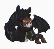 How To Train Your Dragon Manga Design Kids Tee