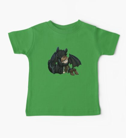 How To Train Your Dragon Manga Design Baby Tee
