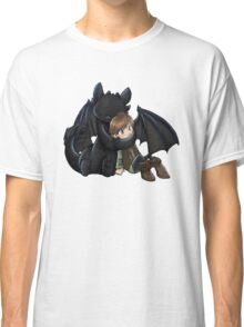How To Train Your Dragon Manga Design Classic T-Shirt