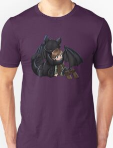 How To Train Your Dragon Manga Design Unisex T-Shirt