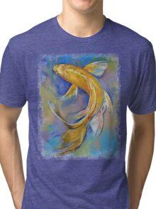 Orenji Butterfly Koi Tri-blend T-Shirt