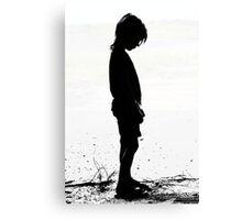 Pouty Little Girl Canvas Print