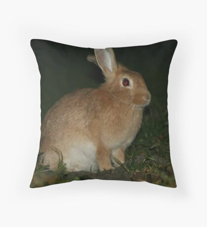 Furry Friend  Throw Pillow