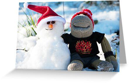 Snowman by twinnieE