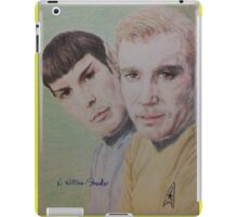 Spock and Kirk iPad Case/Skin