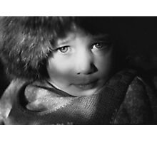 Eyes in Chiaroscuro Photographic Print