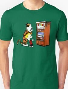 Calvin Hobbes Vending Machine T-Shirt