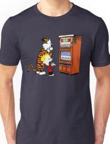 Calvin Hobbes Vending Machine Unisex T-Shirt