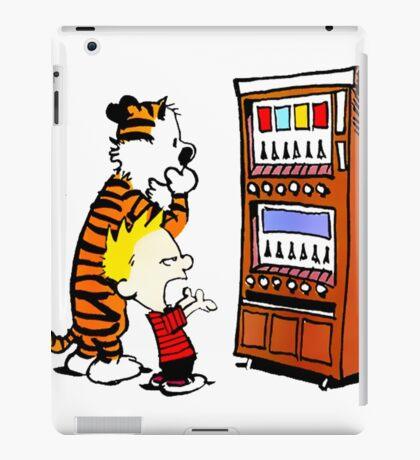 Calvin Hobbes Vending Machine iPad Case/Skin