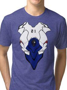 Shinji Ikari Plugsuit - 01 Tri-blend T-Shirt