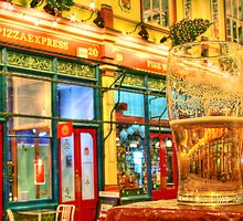 Pizza And A Pint - Leadenhall Market Series - London - HDR by Colin J Williams Photography