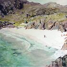 Auchmelvich Bay by Joyce Grubb