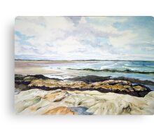 Beach at St.Andrews Scotland Canvas Print