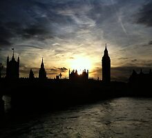 London - Big Ben by PickleWarrior