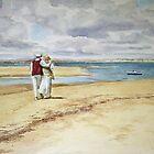 Spanish Beach by Joyce Grubb