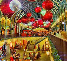 Christmas Covent Garden 2011 - HDR by Colin  Williams Photography