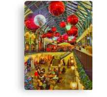 Christmas Covent Garden 2011 - HDR Canvas Print
