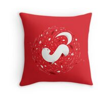 Cute Mink Throw Pillow