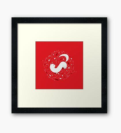 Cute Mink Framed Print