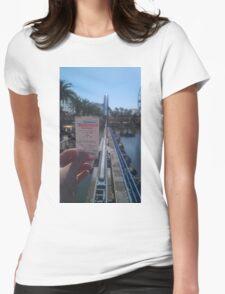 California Screamin' Womens Fitted T-Shirt