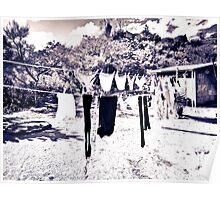 clothesline Poster