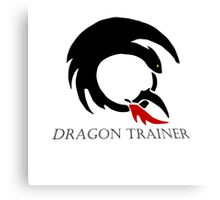 Dragon Trainer Canvas Print