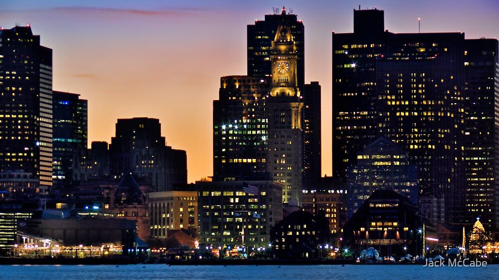 Boston City Skyline at Dusk *featured by Jack McCabe