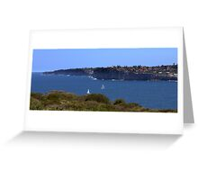 north head manly - 2 & 2 Greeting Card