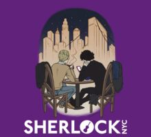 Sherlock NYC - Night (White Logo)