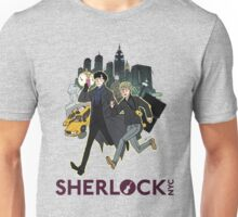 Sherlock NYC - Day (Purple Logo) Unisex T-Shirt