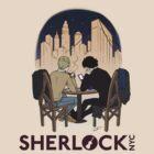 Sherlock NYC - Night (Purple Logo) by SherlockNYC