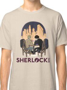 Sherlock NYC - Night (Purple Logo) Classic T-Shirt