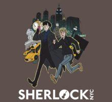Sherlock NYC - Day (White Logo)