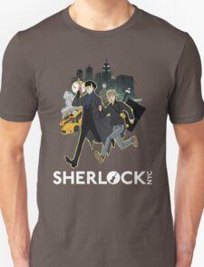 Sherlock NYC - Day (White Logo) Unisex T-Shirt