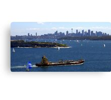 North Head Manly - coming in Canvas Print