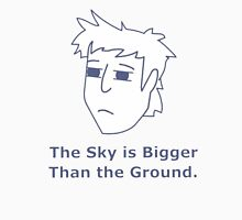 Gavin Free - The Sky is Bigger Than the Ground Unisex T-Shirt
