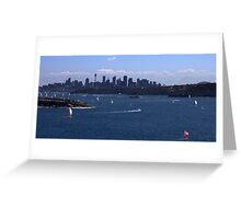north head manly - so many Greeting Card
