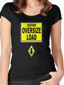 Over- size load Women's Fitted Scoop T-Shirt