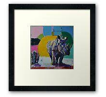 'happyland' Framed Print