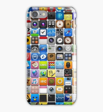 iPhone Icons iPhone Case/Skin