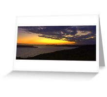 north head manly - in the distance Greeting Card