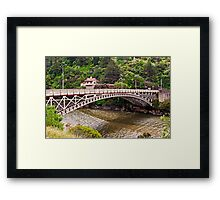 Kings Bridge, Launceston Framed Print