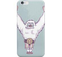 Y is for 'Ya Did It' Yeti iPhone Case/Skin