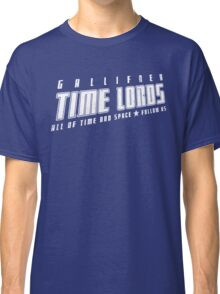 Gallifrey Time Lords (just words) Classic T-Shirt