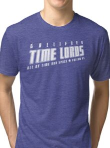 Gallifrey Time Lords (just words) Tri-blend T-Shirt