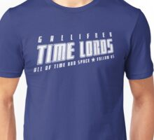 Gallifrey Time Lords (just words) Unisex T-Shirt