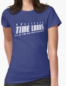 Gallifrey Time Lords (just words) Womens Fitted T-Shirt