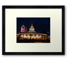 Prince Charming's Regal Carrousel Framed Print