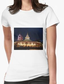 Prince Charming's Regal Carrousel Womens Fitted T-Shirt