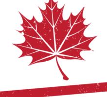 Postage Paid Canada Sticker